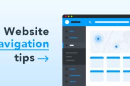 navigation website